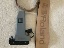 Roland SH101 MGS-1 mod grip with leather strap and screws