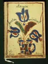 Book Hungarian Folk Pottery ethnic ceramic art craft painted stoneware Hungary
