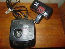Craftsman Battery 19.2 Volt and Charger 12 Volt - 19.2 Volt DieHard Works