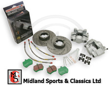 BEK182UR - MG MIDGET & SPRITE - FRONT BRAKE UPGRADE KIT - WIRE WHEEL - BTA469