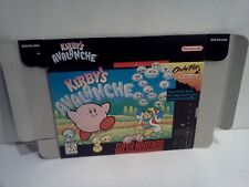 KIRBY'S AVALANCHE Super Nintendo SNES Authentic BOX ONLY