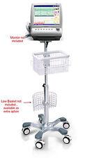 Rolling stand for Edan Cadence F6 F9 fetal monitor  new (big wheel)