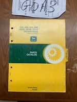 John Deere 3-400 600 800 JDX4 Special JDX6 JDX8 Snowmobile parts catalog PC1479