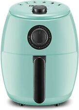 Maxi-Matic 2.1qt Turquoise Air Fryer Oil-Less Healthy Cook,Timer & Temperature