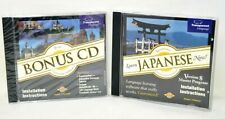 Learn Japanese Now CD Deluxe 8.0 Windows & Macintosh Speak Japanese Easy Fun