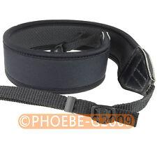 Skidproof Elastic Neoprene Neck Strap for NIKON SLR D90