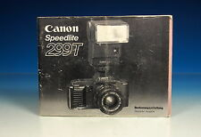 Canon Speedlite 299 T Manuale d'uso German manual - (90193)