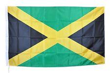 JAMAICAN FLAG BANDIERA GIAMAICA BOB MARLEY REGGAE GIAMAICANA NUOVA cm 90 x150
