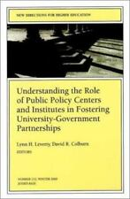 Understanding the Role of Public Policy Centers and Institutes in-ExLibrary