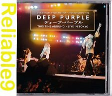 Deep Purple - This time around Live in Tokyo 2CD Sealed Original ed-2001 BMG USA