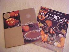 2 Halloween Cookbooks: Holiday Pumpkins + BH&G Halloween
