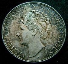 Netherlands 1933  2 1/2 Gulden Silver Crown Coin