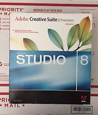 Adobe Creative Suite 2 Premium Macromedia STUDIO 8 Adobe Web Bundle For Mac