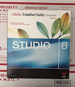 Adobe Creative Suite 2 Premium Macromedia STUDIO 8 Adobe Web Bundle For Mac