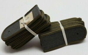 East German Grey Wool Unteroffizer/Maat shoulder boards 10 pair E9249