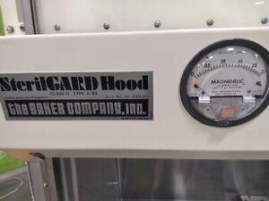 The Baker Company SG 400 laminar flow hood Biosafety Cabinet