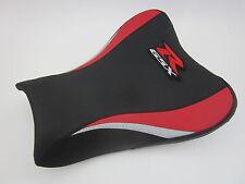 S40 Suzuki GSXR 1000 K7-K8 Seat cover upgrade Red/Black- FRONT