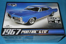 MPC 1967 Pontiac GTO 1/25 Scale Kit-MPC 710 New-Model Car Swap Meet