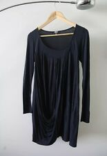 ASOS Dark blue navy, long sleeve dress - Size 10 - excellent condition
