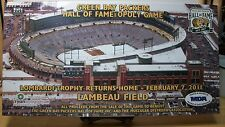 GREEN BAY PACKERS HALL OF FAME-OPOLY BOARD GAME~MONOPOLY~NEW