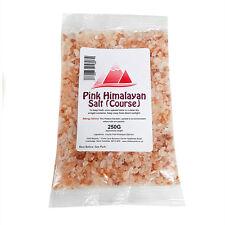 Himalayan Pink Crystal Salt (Course) 250g - Food Grade - Pure Natural