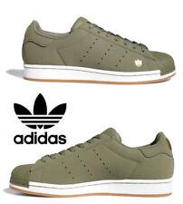 Adidas Originals Superstar Pure Sneakers Men's Casual Shoes Running Green Gold