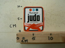 STICKER,DECAL RUCANOR SPORTING GOODS JUDO MATSURU