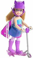 Barbie in Princess Power super hero Kira doll with scooter purple CDY70