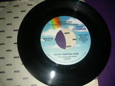 "Pop 45 Olivia Newton John ""Heart Attack/ Strangers Touch"" MCA 1982 VG+"