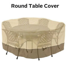 "Garden Patio Round Cover Waterproof Dustproof 94"" Table Chair Furniture Outdoor"