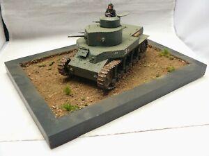 1/35 Built Soviet Pre-war T-24 Medium Tank Diorama