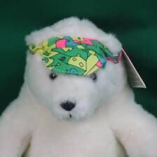 NEW PLUSH RUSS CARESS SOFT PETS FLORIDA VACATION WHITE POLAR BEAR SNOWBIRD