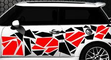 Camouflage Pixel Cyber XXL Set Auto Aufkleber Sticker Tuning Stylin Wandtattoo k