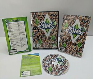 The Sims 3 (PC WIN/MAC DVD-ROM, 2009 ) Disc with Manual