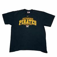 Nike Mens Pittsburgh Pirates MLB Baseball Double Sided Crew T Shirt Size Large L