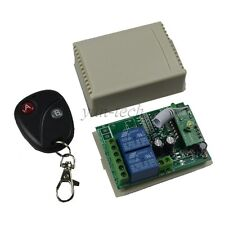 12V 2 CH Way RF Wireless Remote Control Receiver Momentary Switch