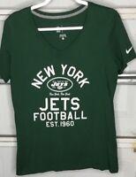 Womens New York Jets Fan T shirt Size Xl