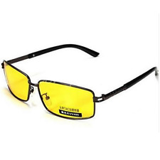 Yellow Lens Polarized Sunglasses Night Vision Driving Eyewear Glasses UV