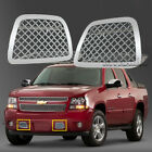 Fit 2007-2014 Tahoeavalanchesuburban Stainless Steel Bumper Mesh Grille Grill