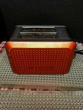 Sensio Bella 2 Slice Extra Wide Toaster Chrome & Orange