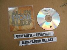 CD Pop Allen Stone - Sleep (2 Song) Promo MCD DECCA