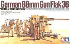 KIT TAMIYA 1:35 GERMAN 88mm GUN FLAK 36 NORTH AFRICA CAMPAIGN 35283