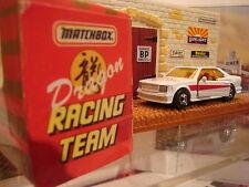 Matchbox Limited Edition 1987 Mercedes 500Sec Dragon Racing Team Rare Find