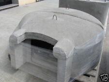 Forno legna refrattario professionale prefabbricato pizzeria pizza cm 145 x 115