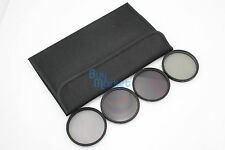 62mm ND2​+ND4+ND8 + CPL Circular Polarizing Filter ND Kit Set with FREE CASE