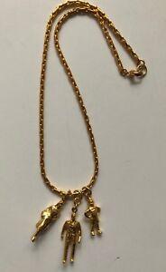 Vintage Original Robert Lee Morris DKNY Family Necklace 1980's