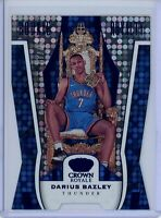2019-20 Panini Crown Royale #35 DARIUS BAZLEY Rookie Royalty Blue #'D 67/75
