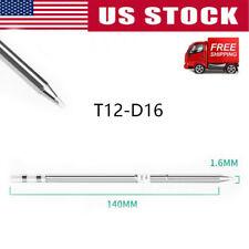 T12 Replace Soldering Solder Iron Tip For Hakko Shape-D16 PCB Repair Product