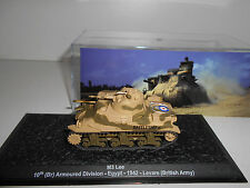 M3 LEE TANK 10TH ARMOURED DIV UK WW II 1942 #44 MILITARY DeAGOSTINI 1:72