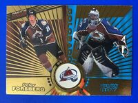 1997-98 Pacific Dynagon Tandems Gold #138 Patrick Roy & Peter Forsberg Colorado